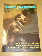 JAZZ JOURNAL INTERNATIONAL VOL 40 #8 1987 AUGUST ERROLL GARNER COLERIDGE GOODE