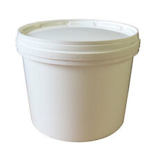 Plastic Bucket and Lid - 5 litres