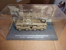 Heavy Panzerspahwagen SdKfz 232 1941 ROMMEL Libya 1/72 NIB