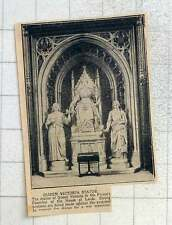 1925 Statue Of Queen Victoria In The Prince's Chamber Of The House Of Lords