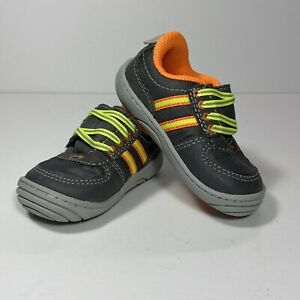 Surprize by Stride Rite Diego Toddler Size 3 Gray Shoes Sneakers