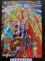 Carte Dragon Ball Super SON GOKU SUPER SAIYAN 3, LE POING BT3-003 SR DBZ FR NEUF