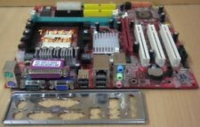MSI MS-7181 K8MM3-V V1.0 Mainboard +Blende Sockel 754 Sound VGA LAN AGP 8x* m116