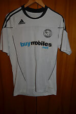 DERBY COUNTY ENGLAND 2010/2011 HOME FOOTBALL SHIRT JERSEY ADIDAS FORMOTION