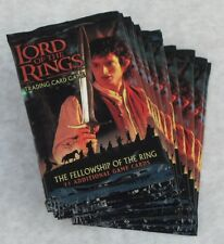THE LORD OF THE RINGS TCG LOT OF 30 MIXED BOOSTER PACKS & 4 STARTER DECKS NEW