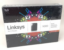 Cisco Linksys E1200 N300 Mbps 4-Port 10/100 Wireless Router Brand New