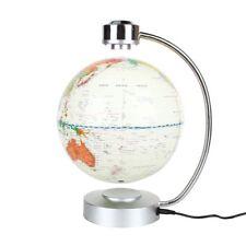 """8"""" Magnetic Floating World Map Globe With LED Light Anti-gravity Levitation"""