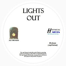 LIGHTS OUT! - 98 Shows Old Time Radio In MP3 Format OTR 1 CD