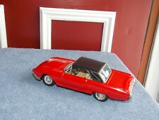 Vintage NK Toys Tin Litho 63 Ford Thunderbird Friction Car, Made in Korea