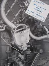 1/1946 PUB ROTAX ROLLS-ROYCE MERLIN ENGINE MOTEUR MAGNETOS ORIGINAL AD