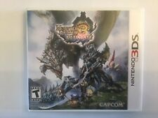 Replacement Case (NO GAME) Monster Hunter 3 Ultimate - Nintendo 3DS
