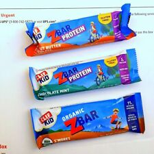 80 CLIF KID ENERGY PROTEIN Z BAR CHOCOLATE MINT PEANUT BUTTER S'MORES 3 FLAVORS