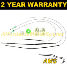 FOR BMW 3 SERIES COMPACT E46 01-04 FRONT LEFT WINDOW REGULATOR REPAIR KIT WRK13