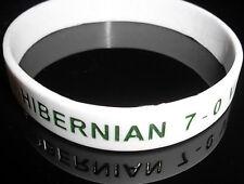 HIBERNIAN FC 7-0 VICTORY AT TYNECASTLE WRISTBAND