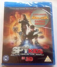 SPY KIDS IV All the Time in the World 3D Blu-ray Factory sealed: *FREE P&P*