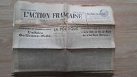 Journal Nationalist L Action Figure French 27 September 1934 N° 270 ABE
