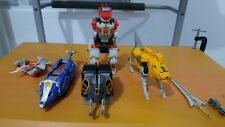 1991 Vintage Bandai Mighty Morphin Power Rangers Megazord and Black Ranger