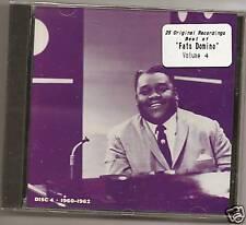 """FATS DOMINO, CD """"25 ORIGINAL RECORDINGS VOL.4"""" NEW"""