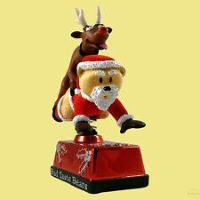 BAD TASTE BEARS PRANCER REINDEER RIDING SANTA CHRISTMAS XMAS 2006-MORE IN SHOP