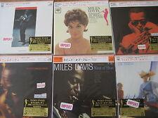 KIND OF BLUE by Miles Davis RARE VARIOUS 6 TITLE JAPAN REPLICA LP OBI SEALED CD