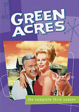 Green Acres DVD Complete Third Season 3 Eva Gabor Eddie Albert 4 Disc Set NEW