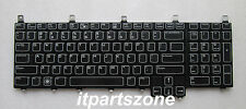 GENUINE Dell Alienware M17x R2 Keyboard + Backlit 8WK6F Tested