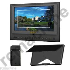 "Lilliput 7""5D-II v2 HDMI field Monitor Canon 5D Mark II III 5d2 5d3+F970 adapter"