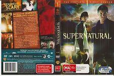 DVD * Supernatural (Complete 1st Season) * 2005 Warner Home Video - Six Disc Set