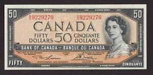 Canada 🇨🇦 1954 - $50 Mod. Portrait - Lawson Bouey Sig. ***UNC - GEM UNC***