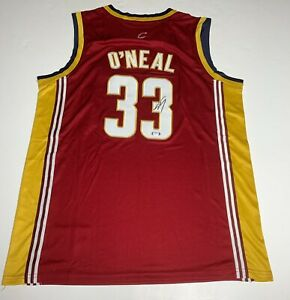 Shaquille O'Neal Signed Cleveland Cavaliers Jersey PSA 9A24466 Shaq Autographed