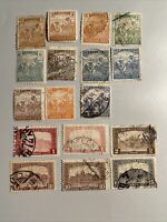 HUNGARY Postage 1916-1920Stamps-17 pcs, used, see photos and description
