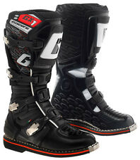 GAERNE GX1 BLACK MX BOOTS GOODYEAR SOLE MOTORCROSS MOTO-X OFF ROAD BOOTS