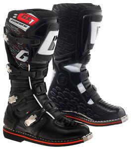 GAERNE GX1 BLACK MX BOOTS GOODYEAR SOLE MOTORCROSS MOTO-X OFF ROAD BOOTS