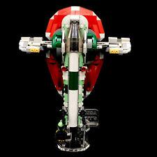 Display Stand Acrylglas Standfuss für LEGO 75312 Boba Fetts Starship