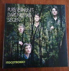 TOCOTRONIC - Pure Vernunft darf niemals siegen (Doppel vinyl LP, grün) KETTCAR