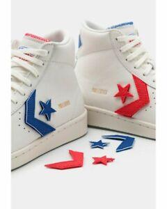 Converse PRO LEATHER BIRTH OF FLIGHT - US Sz 12-VINTAGE WHITE /UNIVERSITY RED -
