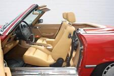 2 Recaro  Ergomed SItze Leder beige  neu bezogen Mercedes R107 SL SLC Paar