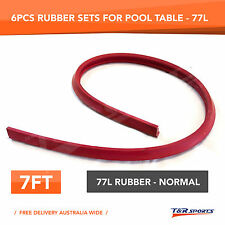 Cushion Rubber Replacement Set for 6FT 7FT Pool Snooker Table RRP $99 Free Post