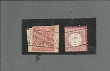 Preussen V. / LINDENAU BEI KÖNIGSBERG je Ra3 auf Briefstück m. NDP GAA 1 + DR 19
