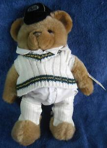 *2130* Bradman Museum collectable Teddy bear Vintage - plush - tag
