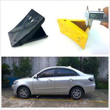 1 Pcs Black Car Vehicle Wheel Tire Chock Stop Block Slope Antislip Pad Universal