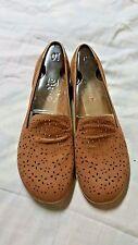 Merrell Mimix Daze Slip-On Shoes Brown Sugar Leather Flats  Women Size10**NEW**
