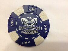 Harley Poker CHIP    HD TALLAHASSEE     TALLAHASSEE, FL      BLUE