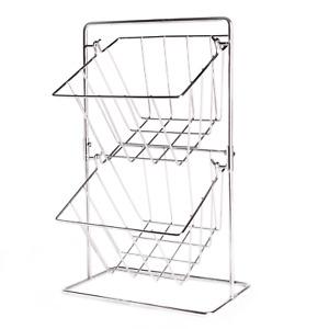 Kitchen Storage Basket Stainless Steel Fruit & Vegetable Storage M&W