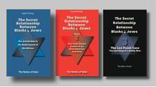 The Secret Relationship Between Blacks and Jews 3-Book Set (New Physical Books)
