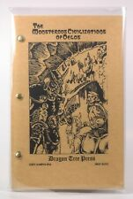 Monsterous Civilizations of Delos  OSR Dragon Tree Press