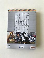 Big Metal Box - Black & White, Max Payne, Oni, F1 (Mac Game)