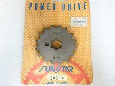 Sunstar NEW 20316 Sprocket 16T