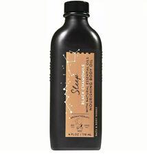 Bath Body Works Black Chamomile Massage Oil Aromatherapy 4 oz New