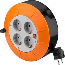 Goobay 71352 interior 4salidas AC 5m negro gris naranja base Múltiple - Bas...